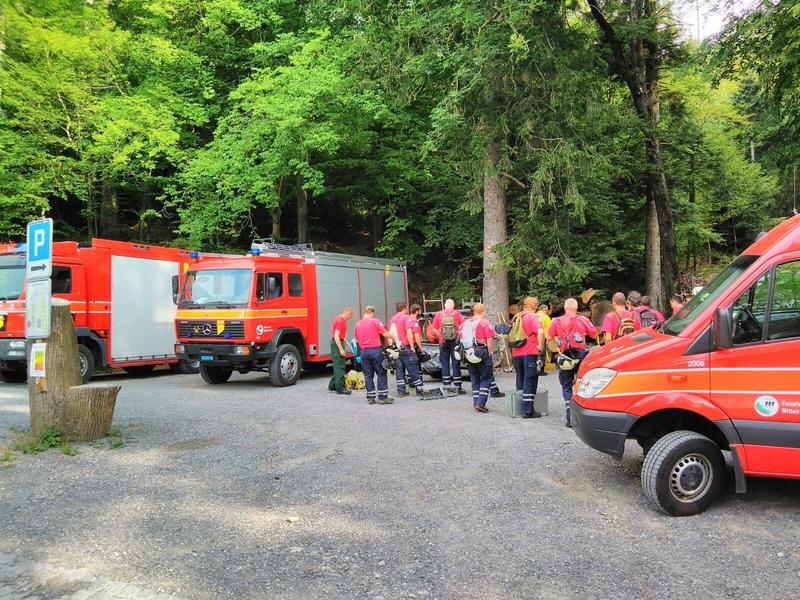 Waldbrandkurs Trefpunkt Werkhof Balgach