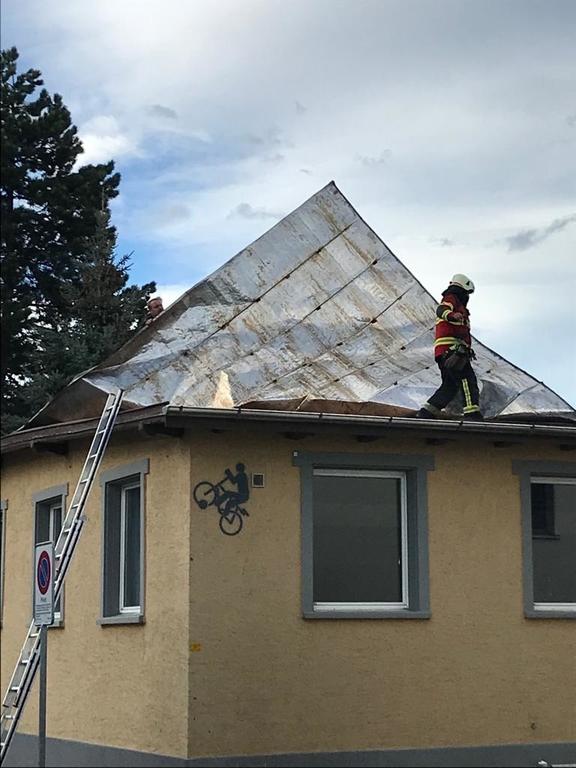 Dach defekt
