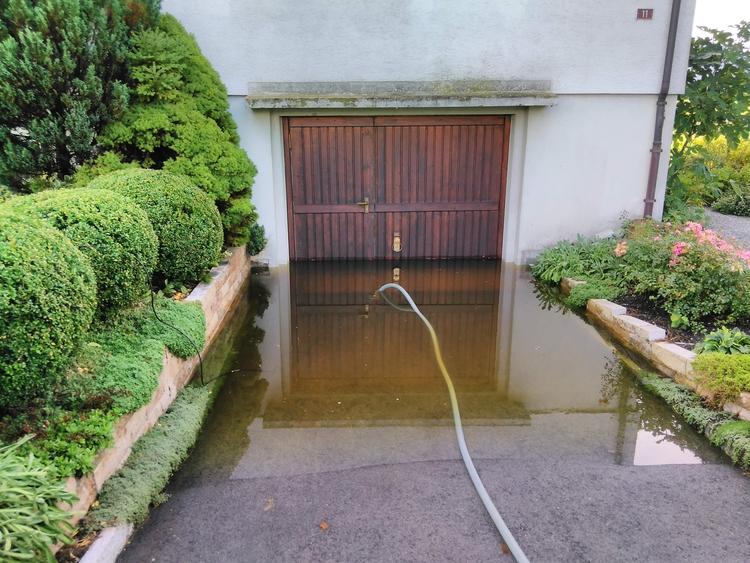 Wasser im Keller