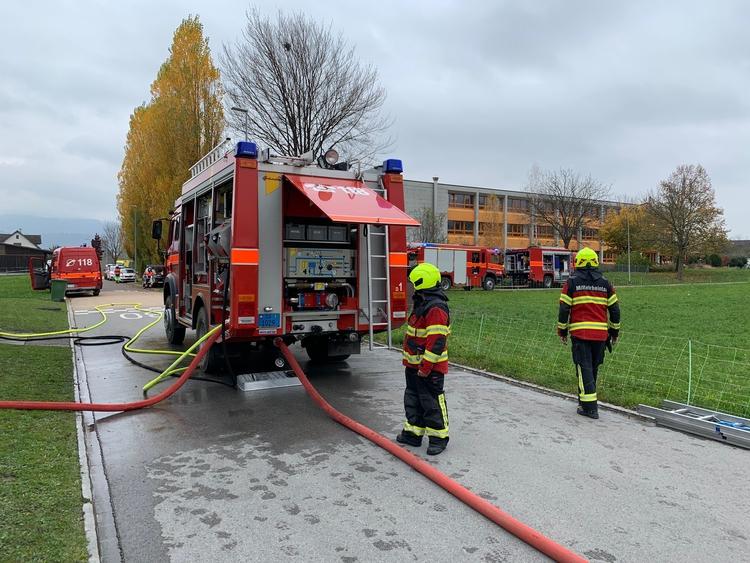 Feuerwehrfahrzeuge im Einsatz